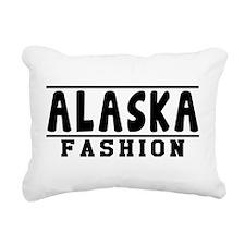 Alaska Fashion Designs Rectangular Canvas Pillow
