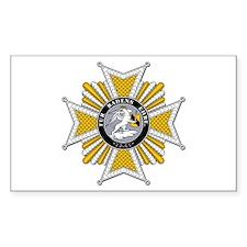 Military Merit (Baden) Rectangle Decal