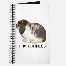 """I love bunnies 1"" Journal"