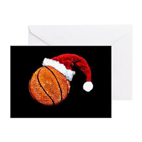 Basketball Santa Greeting Cards (Pk of 10)
