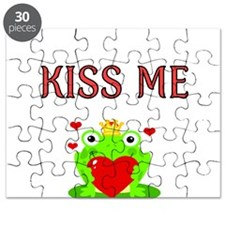 Kiss Me with Frog Prince Puzzle