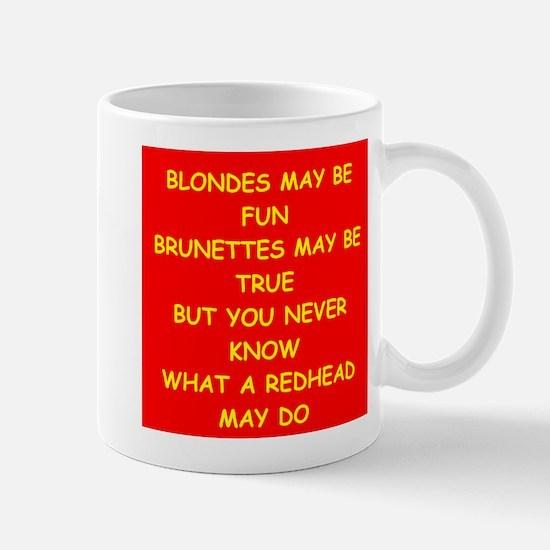 redhead Mug