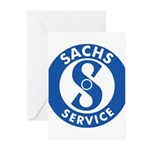 Sachs Greeting Cards (Pk of 10)