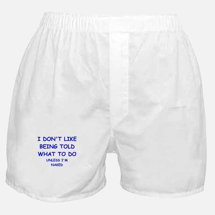 told Boxer Shorts
