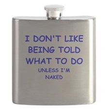 told Flask