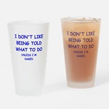told Drinking Glass