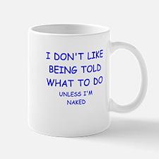 told Mug