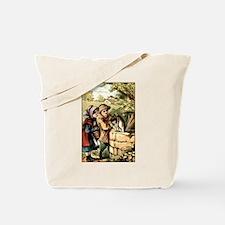 Ding Dong Bell Nursery Rhyme Tote Bag