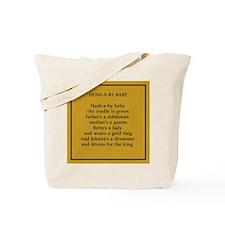 Hushaby Baby Nursery Rhyme Tote Bag
