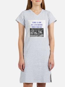 law Women's Nightshirt