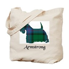 Terrier - Armstrong Tote Bag