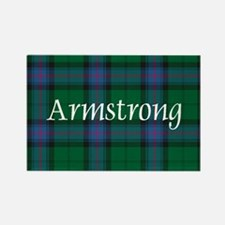 Tartan - Armstrong Rectangle Magnet
