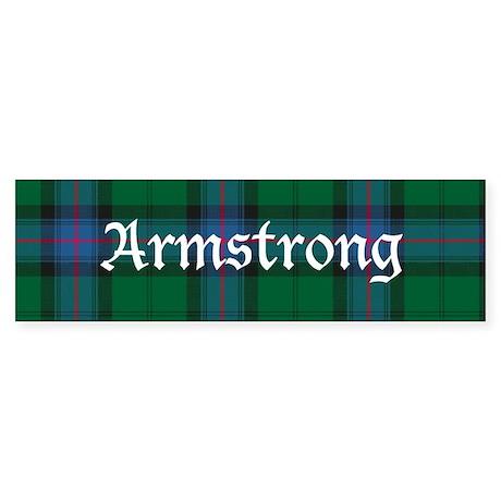 Tartan - Armstrong Sticker (Bumper)