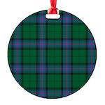 Tartan - Armstrong Round Ornament