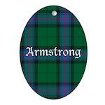 Tartan - Armstrong Ornament (Oval)