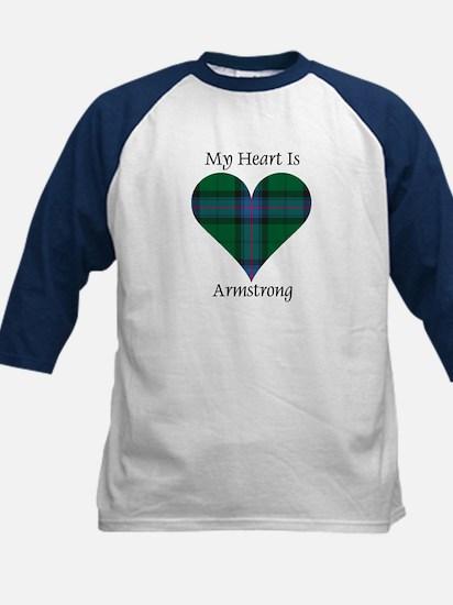 Heart - Armstrong Kids Baseball Jersey