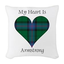 Heart - Armstrong Woven Throw Pillow