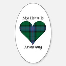 Heart - Armstrong Decal