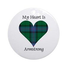 Heart - Armstrong Ornament (Round)