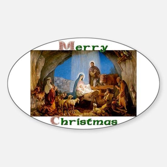 Merry Christmas Decal