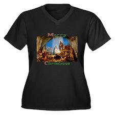 Merry Christmas Plus Size T-Shirt