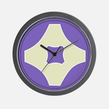 4th Serivce CMD Wall Clock