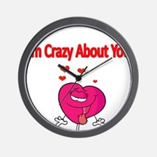 Im Crazy about You Wall Clock