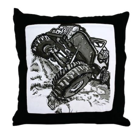 4x4 extreme Throw Pillow