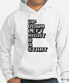 UP DOWN LEFT RIGHT B A START Hoodie