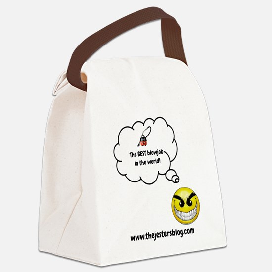 The BEST Blowjob Canvas Lunch Bag