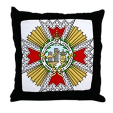 Isabel the Catholic (Spain) Throw Pillow