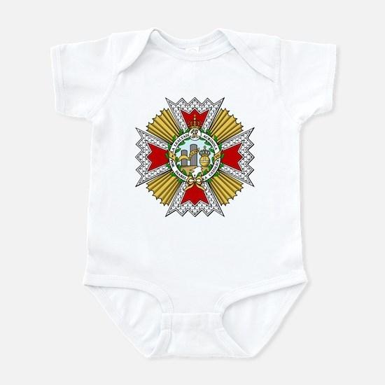 Isabel the Catholic (Spain) Infant Bodysuit