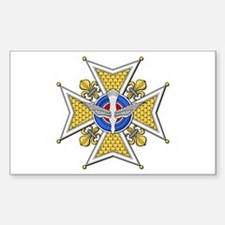Holy Ghost (France) Rectangle Decal