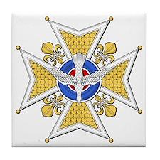 Holy Ghost (France) Tile Coaster