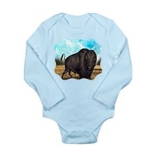 Prairie Bison Long Sleeve Infant Bodysuit