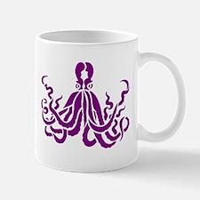 Purple Octopus Mug
