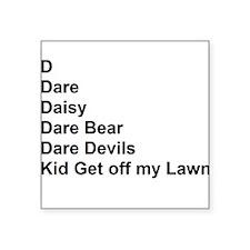 List of Darren's Nicknames Sticker