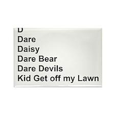 List of Darren's Nicknames Rectangle Magnet