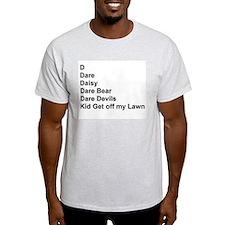 List of Darren's Nicknames T-Shirt