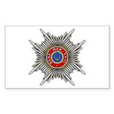 Golden Spur (Papal Order) Rectangle Decal