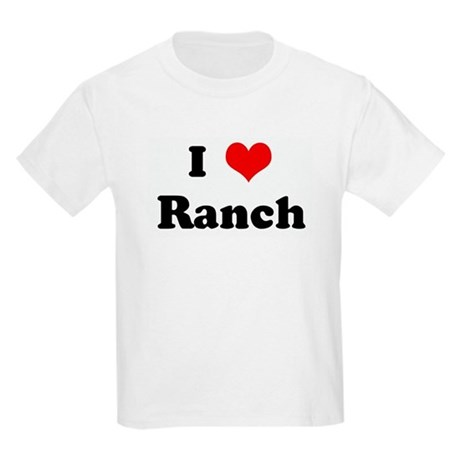 I Love Ranch Kids T-Shirt