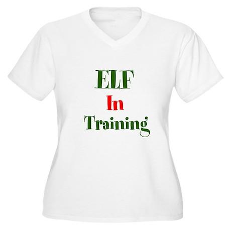 Elf In Training Plus Size T-Shirt