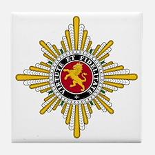 Golden Lion (Hesse) Tile Coaster