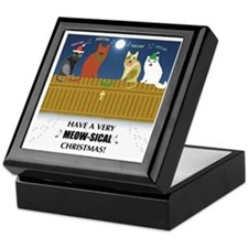 Meow-sical Christmas Keepsake Box