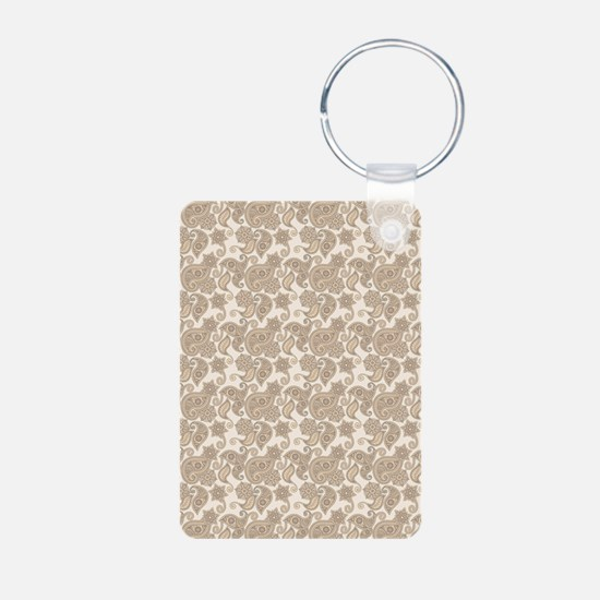 Earthly Paisley Keychains