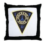 Indianapolis Police Throw Pillow