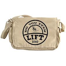 Do You Even Lift Bro? Messenger Bag