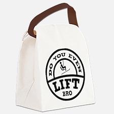Do You Even Lift Bro? Canvas Lunch Bag