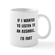 Asshole Fart Mug