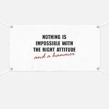 Attitude Hammer Banner